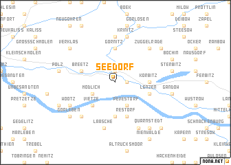 map of Seedorf