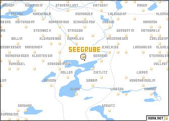 map of Seegrube