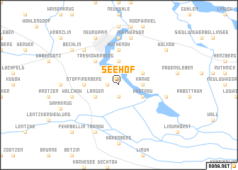 map of Seehof