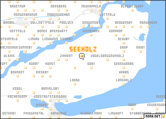 map of Seeholz