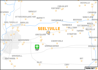 map of Seelyville