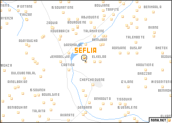 map of Seflia