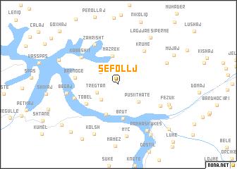 map of Sefollj