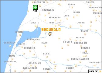 map of Seguedla