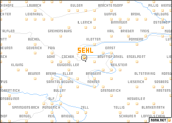 map of Sehl