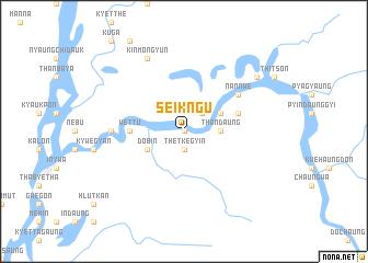 map of Seikngu