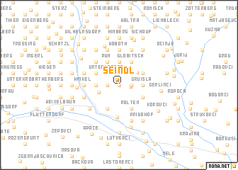 map of Seindl