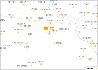 map of Seitz