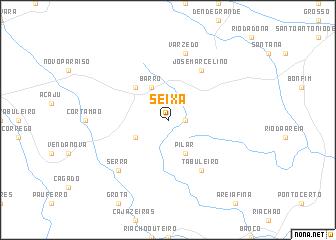 map of Seixa
