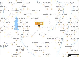 map of Seixo