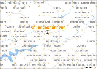 map of Selada das Pedras