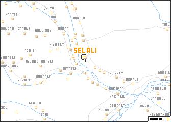 map of Selǝli