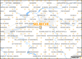 map of Selbecke