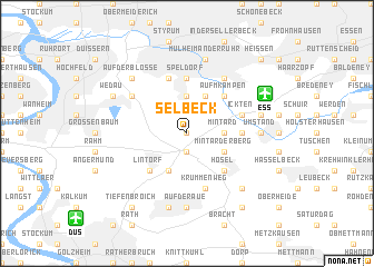 map of Selbeck