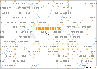 map of Selbensberg