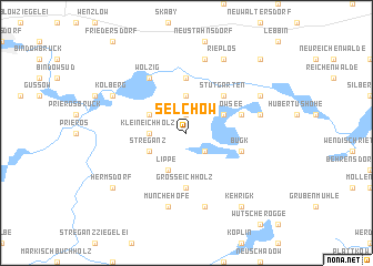 map of Selchow