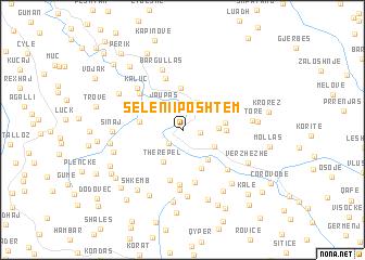 map of Seleni i Poshtëm