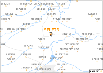 map of Selets