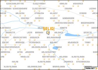 map of Seligi