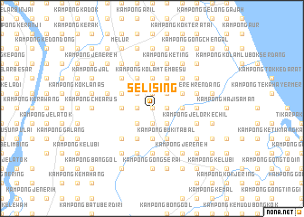 map of Selising