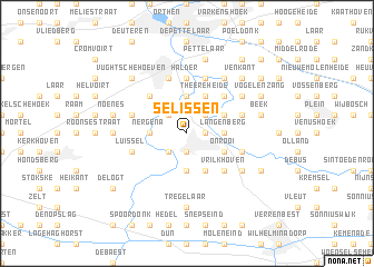 map of Selissen