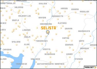 map of Selísta