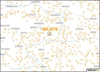 map of Selište