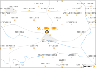 map of Selivanovo
