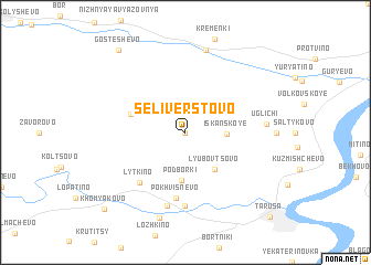 map of Selivërstovo