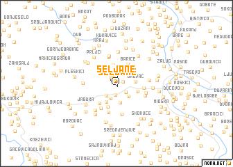 map of Seljane