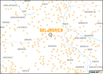 map of Seljašnica