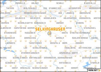 map of Selkinghausen