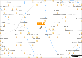 map of Selk