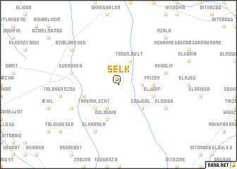 map of Selk