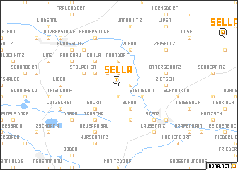 map of Sella