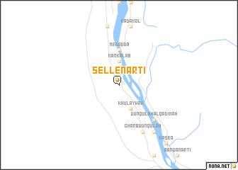map of Sellenarti