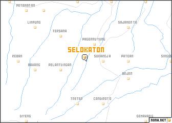 map of Selokaton