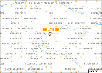 map of Selters