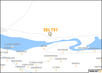 map of Sel\