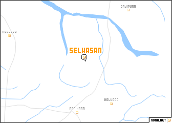 map of Selwāsan