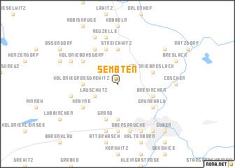 map of Sembten