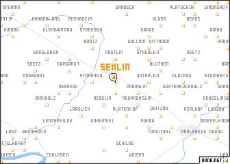 map of Semlin