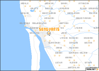 map of Sendvaris