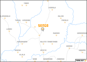 map of Senga