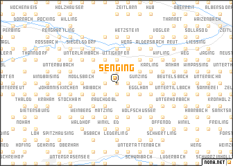 map of Senging
