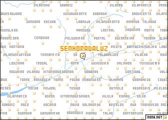 map of Senhora da Luz