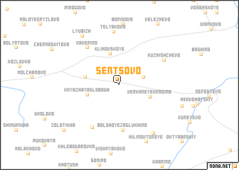 map of Sentsovo