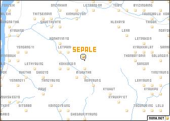 map of Sepalè