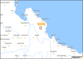 map of Sepa