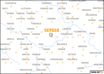 map of Sepodo